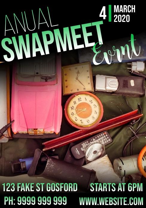 Green Swamp Meet Event A5 template
