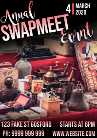 swap meet A5 template