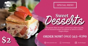 Sweet Desserts Social Media Template