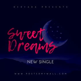 Sweet Dreams Mixtape Cover Art Template
