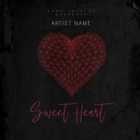 Sweet Heart Mixtape/Album Cover Art Template