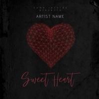 Sweet Heart Mixtape/Album Cover Art Template