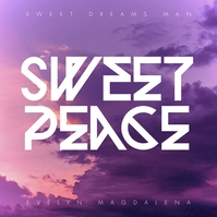 Sweet Peace Pochette d'album template