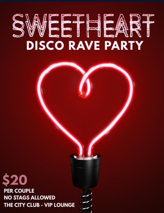 Sweetheart dance template