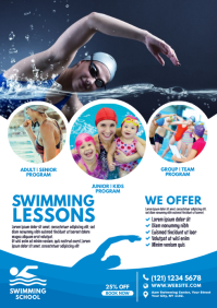 Swimming Lessons Flyer