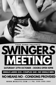 Swingers Meeting Poster