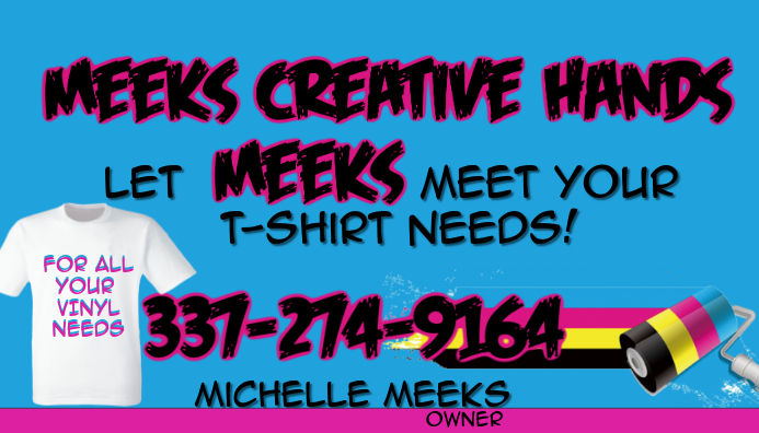 T Shirt business cards