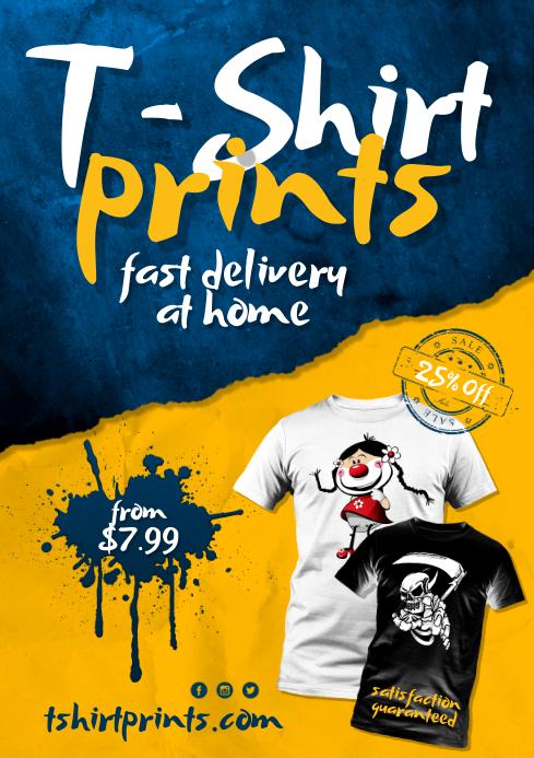 T-shirt print Poster
