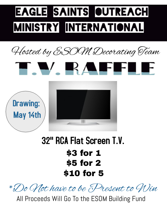 TV Raffle Ticket Flyer Template  Postermywall