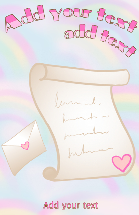 image regarding Letter Paper Template identified as tabloid template stationary paper letter - loveletter with