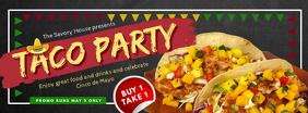 Taco Party Cinco de Mayo Invitation Banner