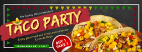 Taco Party Cinco de Mayo Invitation Banner