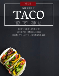 Taco Restaurant Flyer Template
