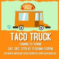 Taco Truck Instagram Video template