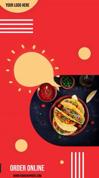TACO TUESDAY (With optional music) Instagram Story template