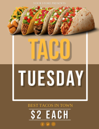 Taco Tuesday Event Flyer Template