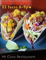 Taco Tuesday Night Special Flyer Template