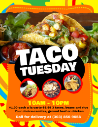 customizable design templates for taco postermywall
