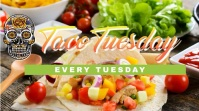 Taco Tuesday Raydiant demo Цифровой дисплей (16 : 9) template