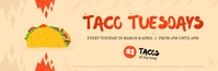 Taco Tuesdays Animated Email Header Koptekst e-mail template