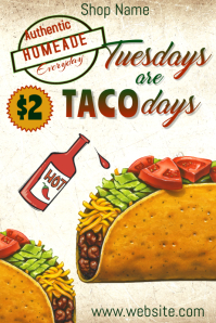 Taco Tuesdays Poster