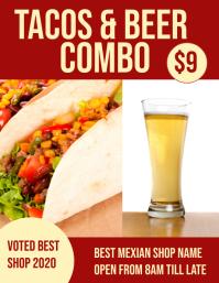 tacos & beer combo