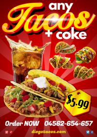 Tacos Menu Special