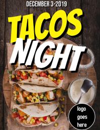 Tacos Night Flyer