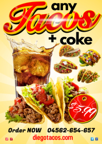 Tacos Special Poster