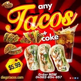 Tacos Video Advert