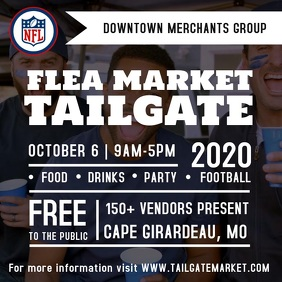 Tailgate Party Video Instagram Plasing template