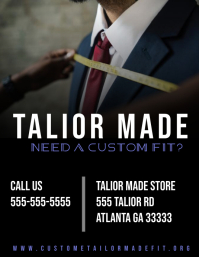 Tailor Made Sewing Flyer