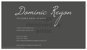 Tailored Development Business Card Template