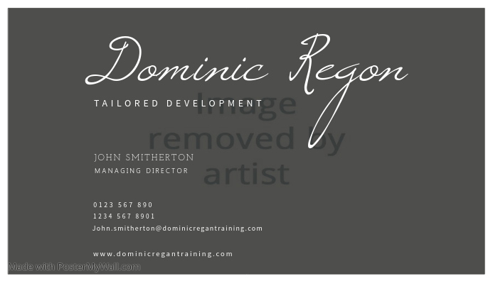 Tailored Development Business Card Template