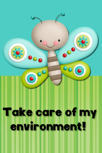 Take care of environment