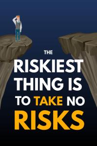 Take Risks Poster