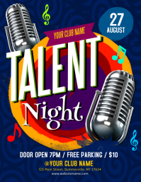 Talent Night Flyer