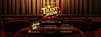 Talent Show Facebook Cover Photo template