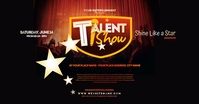 Talent Show Facebook Shared Image template