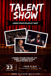 Talent Show Flyer Design Template
