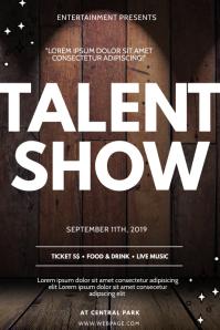 Talent Show Flyer Design Template