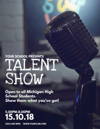 talent show flyer template