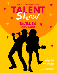 talent show flyer templates free