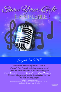 talent flyer customizable design templates for talent show postermywall