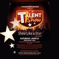 Talent Show Instagram Post Instagram-bericht template