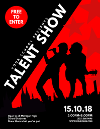 970+ Customizable Design Templates for Talent Show | PosterMyWall