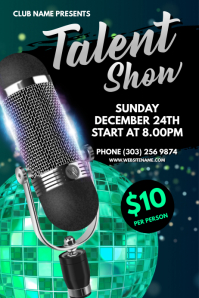 Talent Show Poster