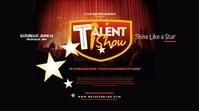Talent Show Twitter Post Twitter-bericht template