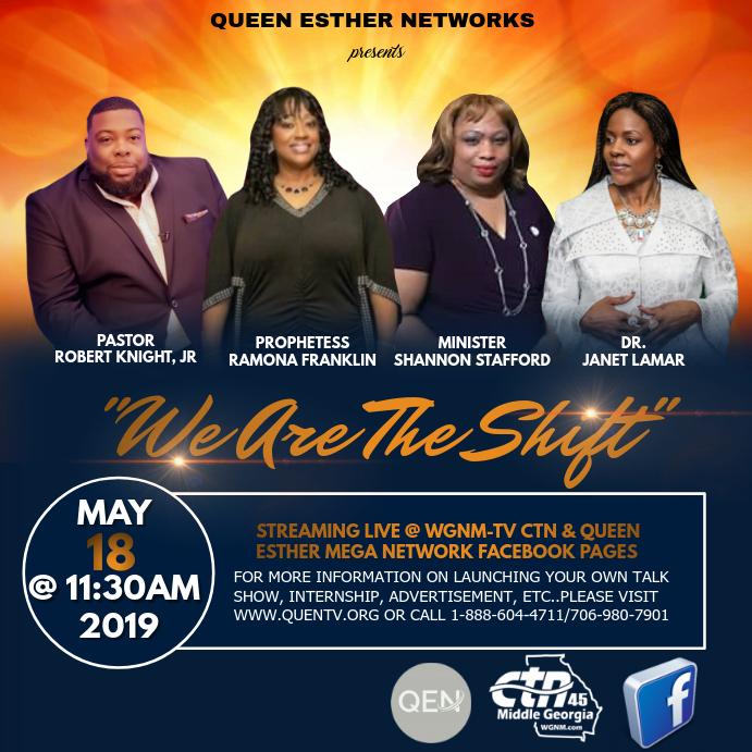 talk show flyer