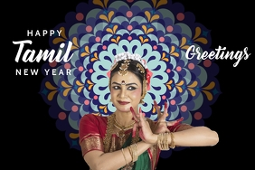 Tamil New year Poster Template